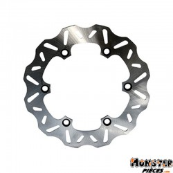 DISQUE DE FREIN MAXISCOOTER POLINI POUR HONDA 125 FORZA ABS 2015+ AV (EXT 256 mm, INT 144,2 mm, 6 TROUS)