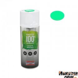 BOMBE DE PEINTURE AREXONS ACRYLIQUE FLUO VERT spray 400 ml (3688)