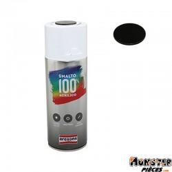 BOMBE DE PEINTURE AREXONS ACRYLIQUE VERNIS FUME-TRANSPARENT NOIR spray 400 ml (3440)