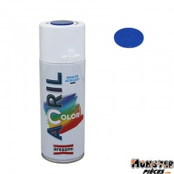 BOMBE DE PEINTURE AREXONS ACRYLIQUE BLEU TRAFFIC RAL 5017 spray 400 ml (3951)