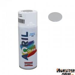BOMBE DE PEINTURE AREXONS ACRYLIQUE GRIS ALUMINIUM RAL 9006 spray 400 ml (3956)