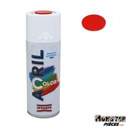 BOMBE DE PEINTURE AREXONS ACRYLIQUE ROUGE DUCATI RAL 3020 spray 400 ml (3938)