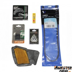 KIT ENTRETIEN SCOOT ADAPTABLE MBK 50 OVETTO 4T-YAMAHA 50 NEOS 4T  -P2R-