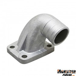 PIPE ADMISSION CYCLO MALOSSI ALU MONTAGE SOUPLE POUR MBK 51 DIAM 19-21mm (02 6572B)