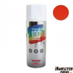 BOMBE DE PEINTURE AREXONS ACRYLIQUE ORANGE PUR BRILLANT spray 400 ml (3598)