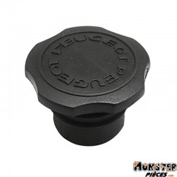 BOUCHON D'ESSENCE CYCLO ADAPTABLE PEUGEOT 103 DIAM 30mm CANNELE
