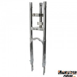 FOURCHE CYCLO ADAPTABLE PEUGEOT 103 MVL CHROME  -SELECTION P2R-