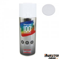 BOMBE DE PEINTURE AREXONS ACRYLIQUE 100 BLANC ELECTRO spray 400 ml (3596)