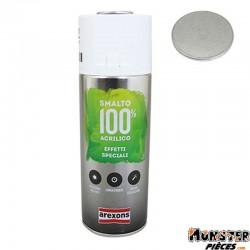 BOMBE DE PEINTURE AREXONS ACRYLIQUE 100 ARGENT EFFET METALISE spray 400 ml (3673)