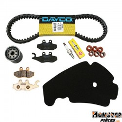 KIT ENTRETIEN MAXISCOOTER ADAPTABLE PIAGGIO 300 BEVERLY ABS 2010+  -RMS-