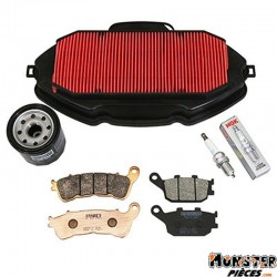 KIT ENTRETIEN MAXISCOOTER ADAPTABLE HONDA 700 INTEGRA 2014+2017  -RMS-