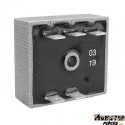 REGULATEUR DE TENSION 50 A BOITE ADAPTABLE RIEJU 50 RR, RS2 (5 FICHES)  -GUILERA ORIGINE-
