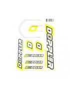 Planche stickers pour Moto 50